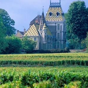 Замок и виноградники Алокс-Кортон