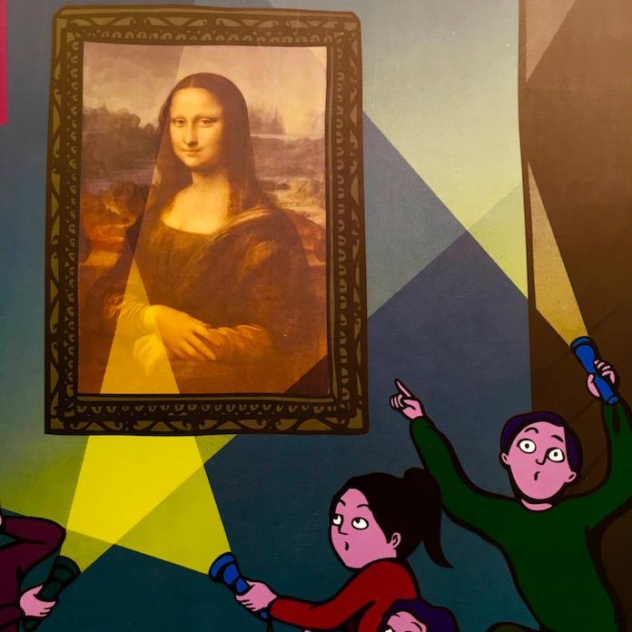 Детская экскурсия в Лувр